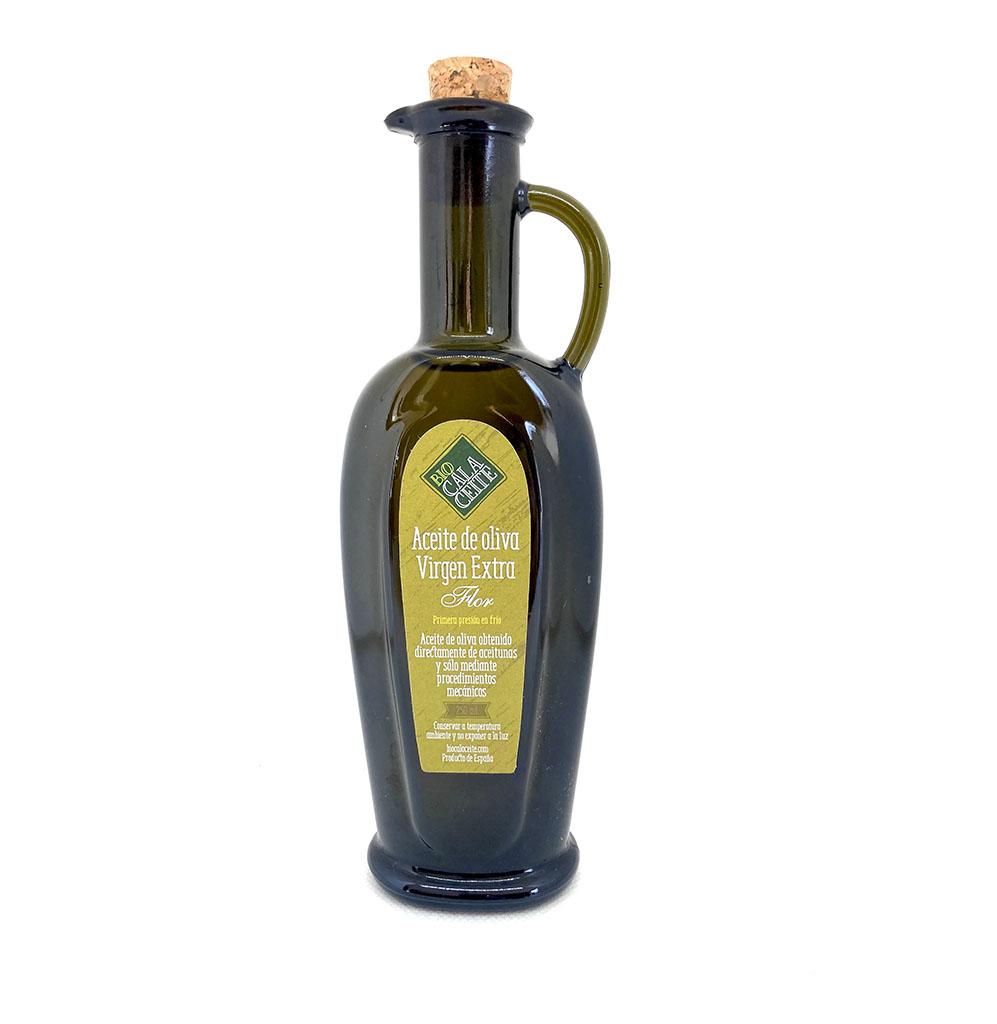 Aceite de oliva virgen extra flor